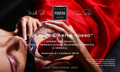GRADITO L'ABITO ROSSO. IL 2016 E' BIANCO | SPEAKING OF WINE | Scoop.it