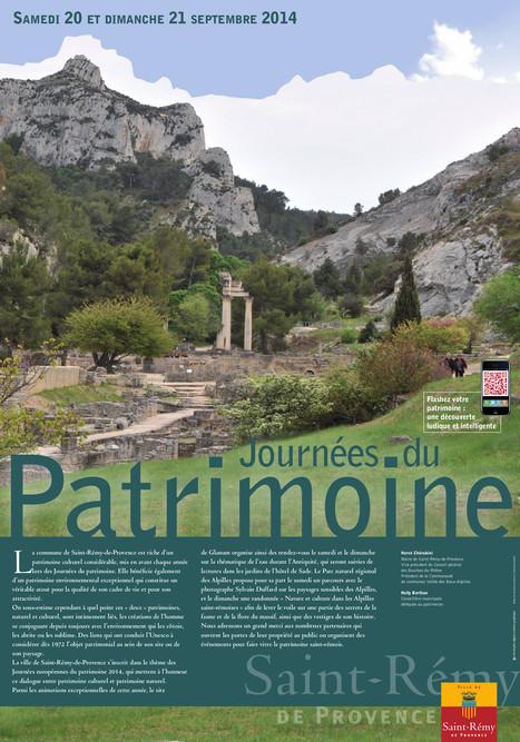 Les Journées du Patrimoine à Saint Rémy de Provence, un voyage dans le temps!   Saint Rémy de Provence Tourisme   Scoop.it