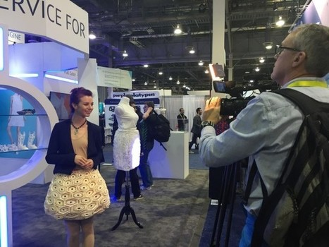 Les robes imprimées en 3D par Sculpteo au CES 2016 | Jisseo - Imagineering & Making | Scoop.it