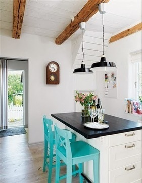 International decor: Decorative ceiling beams, wood beams in the interior   International Decorating ideas   Scoop.it