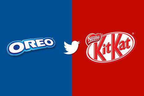 Quand Kit Kat et Oreo s'invitent aux discussions des internautes sur Twitter ! | InPeople | Scoop.it