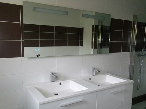 Réfection d'une salle de bain | Des idées pour vos travaux | Scoop.it
