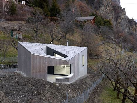 Archilovers The Social Network for Architect — Roduit studio - Chamoson, Switzerland by Savioz... | Sustainable building | Scoop.it