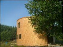 Une maison passive en bois de forme cylindrique - Batiactu | Conseil construction de maison | Scoop.it