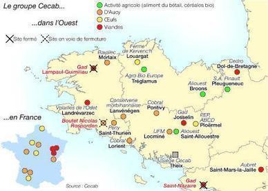 La chute de Gad fragilise la coopérative Cecab | Ouest France Entreprises | Agroalimentaire-bretagne | Scoop.it