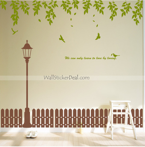 We Can Only Learn To Love By Loving Wall Sticker – WallStickerDeal.com   Tree Wall Stickers   Scoop.it
