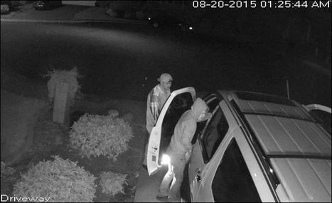 Neighbors believe thieves are tied to 2 other break-ins | camera security | Scoop.it