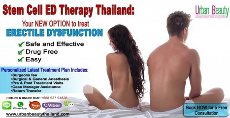 Erectile Dysfunction Thailand - Urban Beauty Thailand | Laser Facelift Skin tightening Bangkok, Ulthera, Coolsculpting by Zeltig, Thread lift, Thermage, Mini facelift Phuket Thailand | Scoop.it