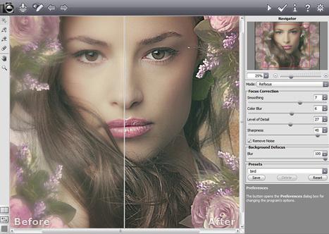 Une nouvelle version du logiciel de correction photographique Refocus est disponible | L'oeil du photographe: actualité, évènements, matériel photo, conseil de réalisation | Scoop.it