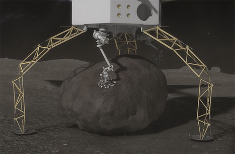 NASA Aims to Pluck a Boulder Off an Asteroid - Discovery News | New inventions | Scoop.it