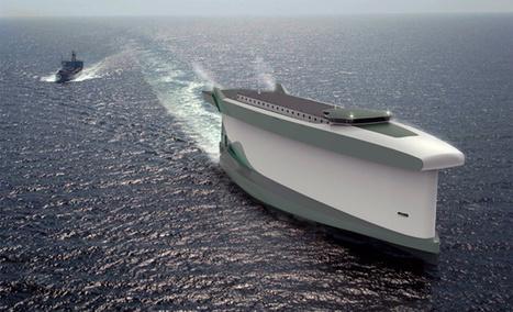 El barco que usa su casco como una vela | Diseñar es vivir con inspiración | Scoop.it