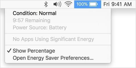 About Mac notebook batteries | Mac Tech Support | Scoop.it