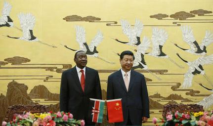 """Kenya : futur point d'entrée de la Chine en Afrique pour supplanter le dollar ?   Revue de presse """"Afrique""""   Scoop.it"""