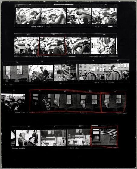 "ROBERT FRANK: ""Contact sheets from 'THE AMERICANS'"" - Since 2008, AMERICAN SUBURB X 