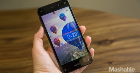 Hands On: Amazon's Fire Phone Is More Than Meets the Eye | Grumpy Bill Says | Scoop.it