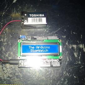 Standalone Arduino StopWatch - SainSmart LCD Keypad Shield | Arduino&Raspberry Pi Projects | Scoop.it