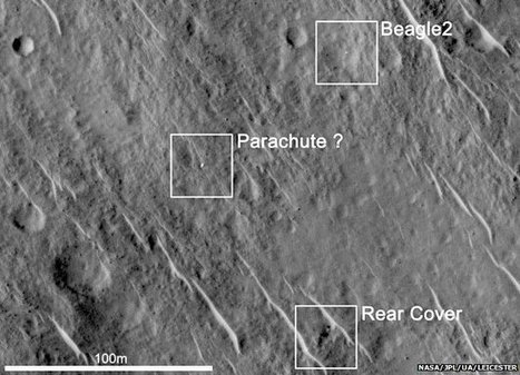Lost Beagle2 probe found on Mars | Miscellaneous | Scoop.it