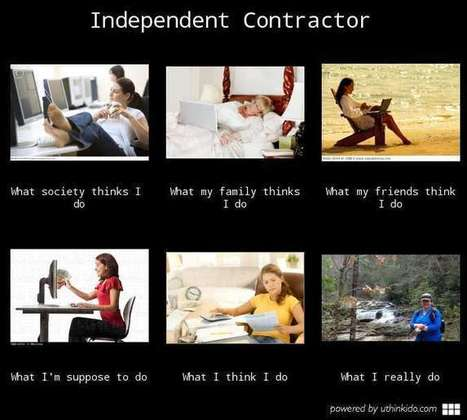 Independent Contractor | What I really do | Scoop.it