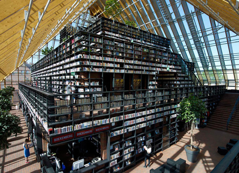 MVRDV: book mountain + library quarter, spijkernisse | De Informatieprofessional | Scoop.it