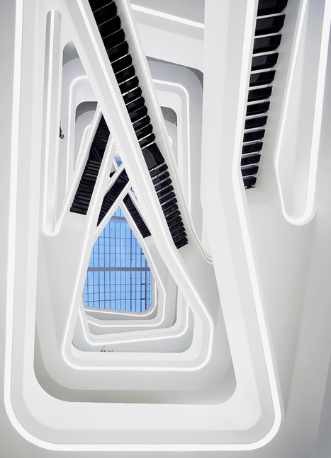 dominion office building in moscow by zaha hadid architects | Communication design | Scoop.it