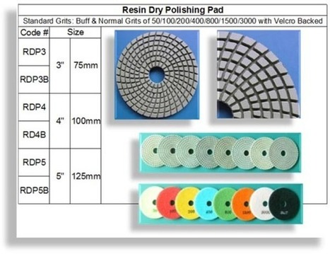 Diamond Resin Dry Polishing Pad|RM Tech Korea - Company Profile | Concrete Polishing Tools Accessaries | Scoop.it