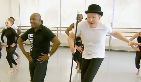 Watch Conan Try His Goofy Best At A Prestigious New York Dance School | Comedy Remedy | Scoop.it