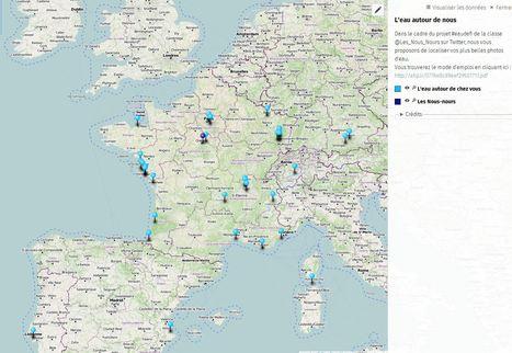 Académie Orléans-Tours. Usages du numérique. Projet collaboratif - L'eau autour de nous - uMap | Vie numérique  à l'école - Académie Orléans-Tours | Scoop.it