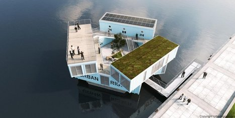 Students in Copenhagen can pay $600 month to live in these floating shipping container dorms | Real Estate Plus+ Daily News | Scoop.it