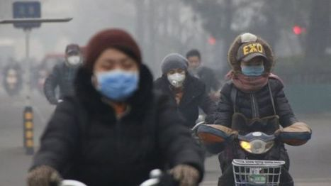 China pollution: First ever red alert in effect in Beijing | Geography Education | Scoop.it