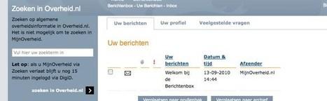 Aansluiting Berichtenbox kan voor dik 5000 euro - Binnenlands Bestuur | Regeldrukvermindering | Scoop.it