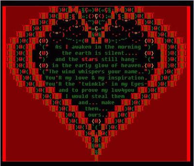 ~My Heart~ ascii-art -by- dianecree_52 | ASCII Art | Scoop.it