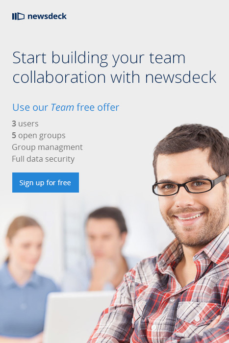 Start Building your team collaboration with Newsdeck | Curate Share and Collaborate with Newsdeck | Scoop.it