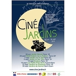 Ciné-Jardins jusqu'au 26 septembre | Les colocs du jardin | Scoop.it