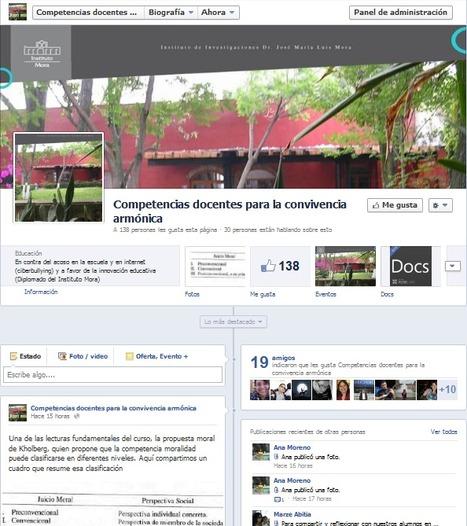 Facebook del diplomado: comunidad abierta para la convivencia armónica | DiplomadoDCDAVCA | Scoop.it