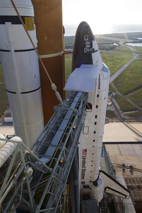 Endeavour Shuttle Astronauts Arrive in Florida for Launch Practice - Space.com   NASA TweetUp   Scoop.it