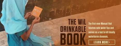 Water is life - The Drinkable Book - Le livre à boire   Eywa - Consulting & Coaching for Change   Scoop.it