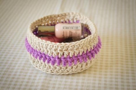 Loving...crochet baskets | Thingsdeeloves | Crochet | Scoop.it