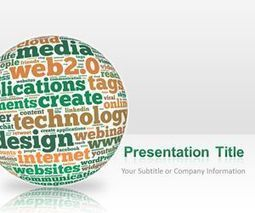 Web SOLOMO PowerPoint Template | Free Business PowerPoint Templates | Scoop.it