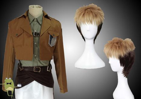 Shingeki no Kyojin Jean Kirschtein Cosplay Costume + Wig | Attack on Titan Cosplay Costumes | Scoop.it