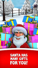 """Get """"Talking Santa"""" on your iPhone this Christmas 