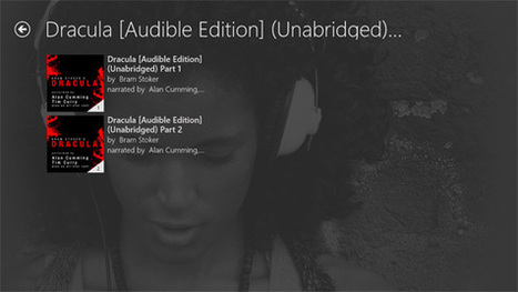 Windows 8/RT App Pick: Audible | Windows 8 content from Paul ... | Windows 8 App Store | Scoop.it
