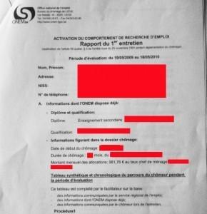 """Le Forem convoque la chômeuse APRES le contrôle de l'ONEM   """"Privé de Salaire""""   Scoop.it"""