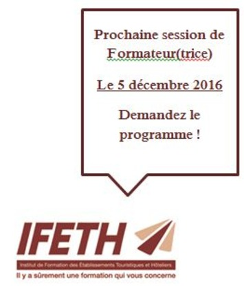 FORMATION DE FORMATEUR(TRICE)S DE L'IFETH | IFETH 83 | Scoop.it
