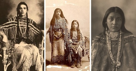 1800s-1900s Portraits Of Native American Teen Girls Show Their Unique Beauty And Style (15+ Pics) | Street Art | Scoop.it