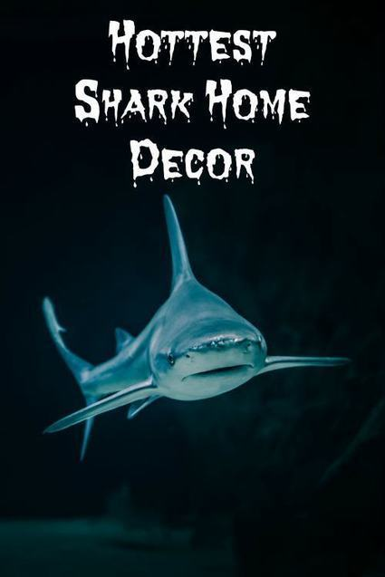 Shark Home Decor Perfect For Enjoying Shark Week | Boutique Shops News! | Scoop.it