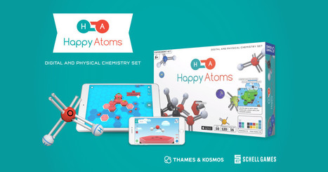 Happy Atoms: The Augmented Reality Chemistry Set | Edutainment | Scoop.it