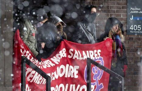 [Canada] Des étudiants en grève bloquent l'accès à une dizaine de pavillons de l'UQAM | Higher Education and academic research | Scoop.it