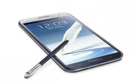 Samsung presenta el Galaxy Note II: con mayor pantalla y batería - El Norte de Castilla   IT y Gadgets   Scoop.it