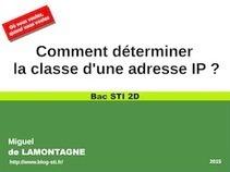 Comment déterminer  la classe d'une adresse IP ? | Mécatronique - lycée | Scoop.it