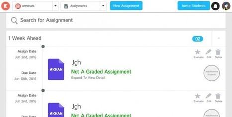 kiddom, para que los profesores creen aulas virtuales y envíen tareas a los alumnos | EDUDIARI 2.0 DE jluisbloc | Scoop.it